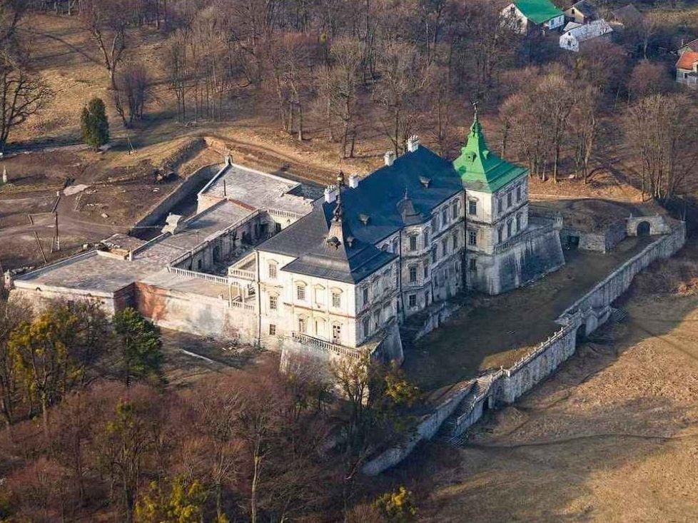Замок у Підгірцях - панорама