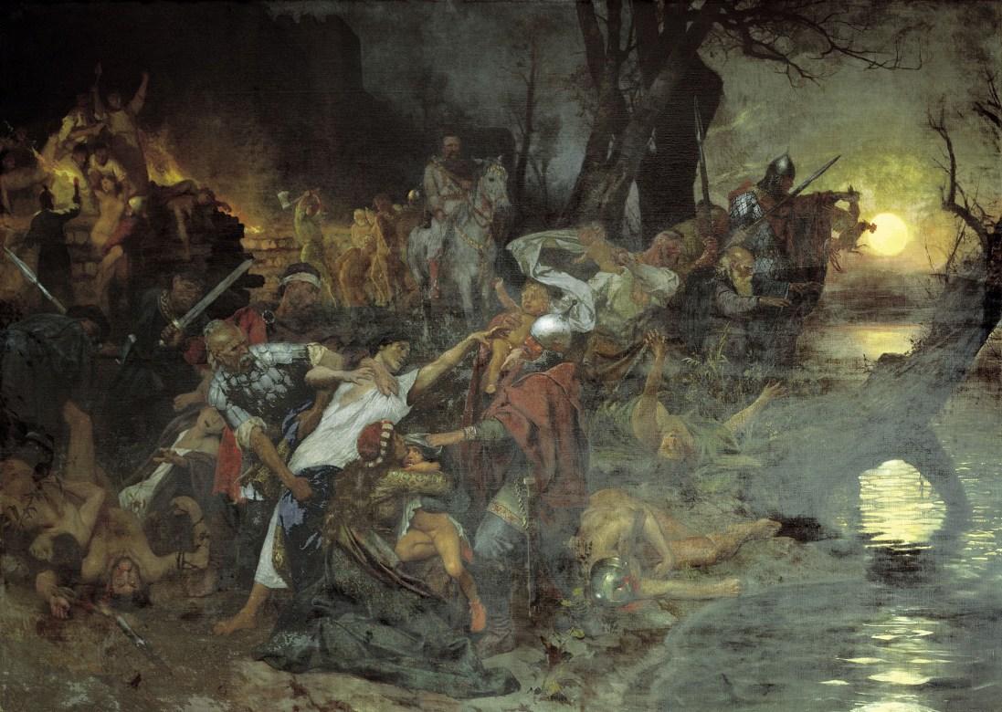 Дружина Святослава після битви під Доростолом