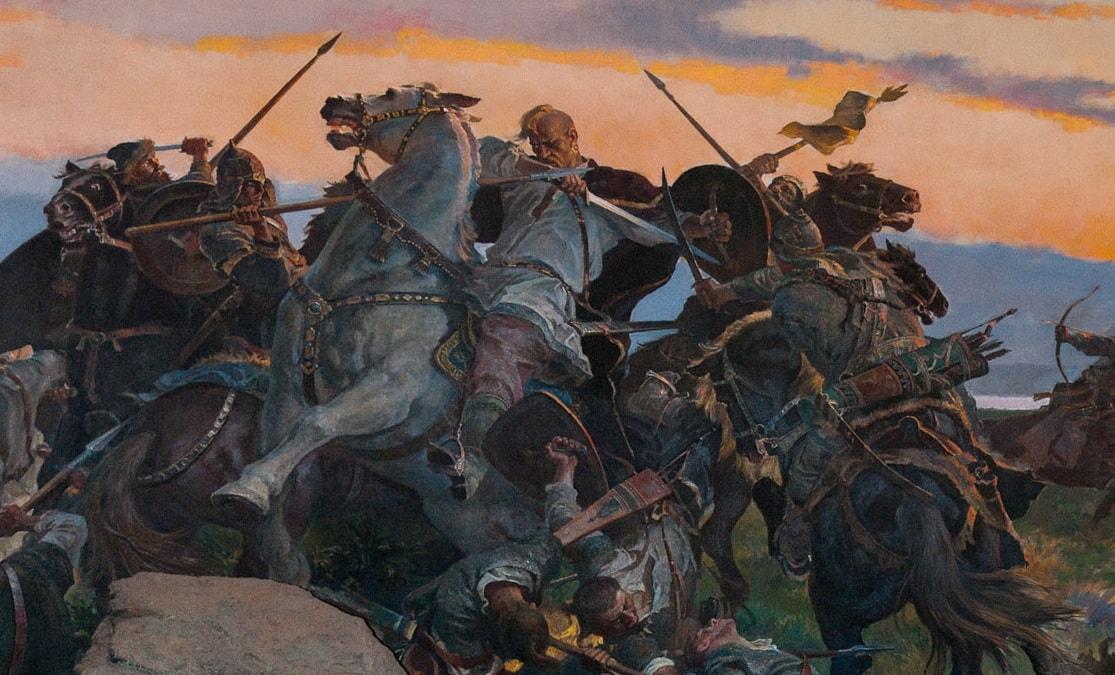 Святослав Хоробрий у бою