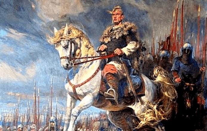 Святослав Хоробрий перед військом