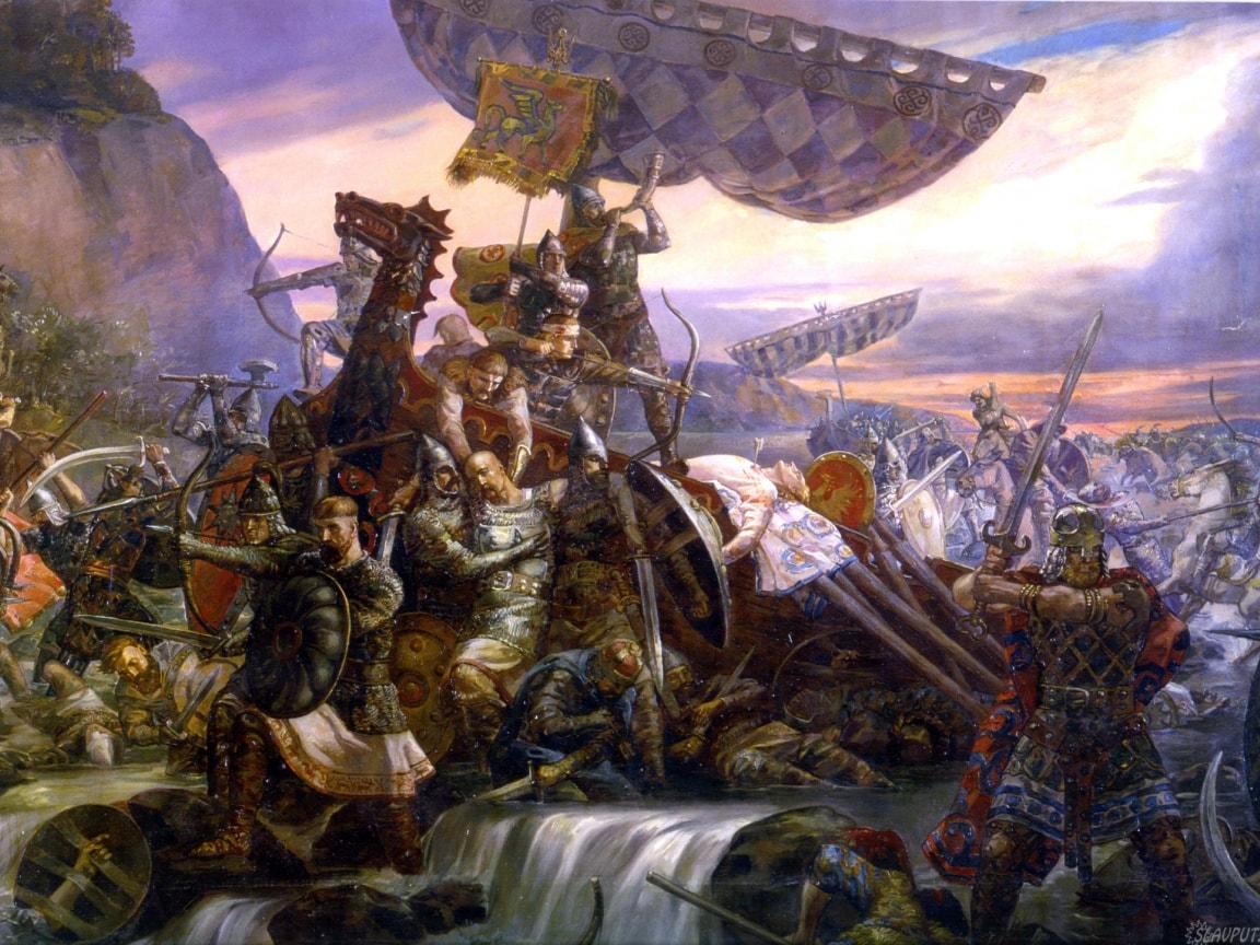 Остання битва Святослава Хороброго