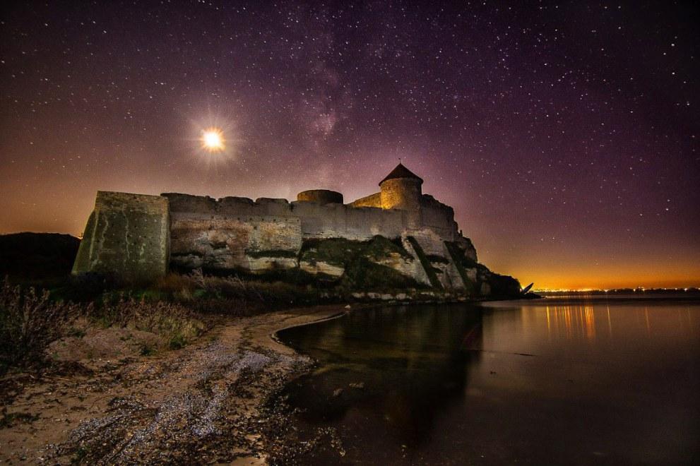 Вечірня Білгород-Дністровська фортеця