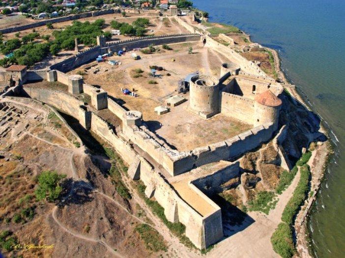 Білгород-Дністровська фортеця з висоти пташиного польоту