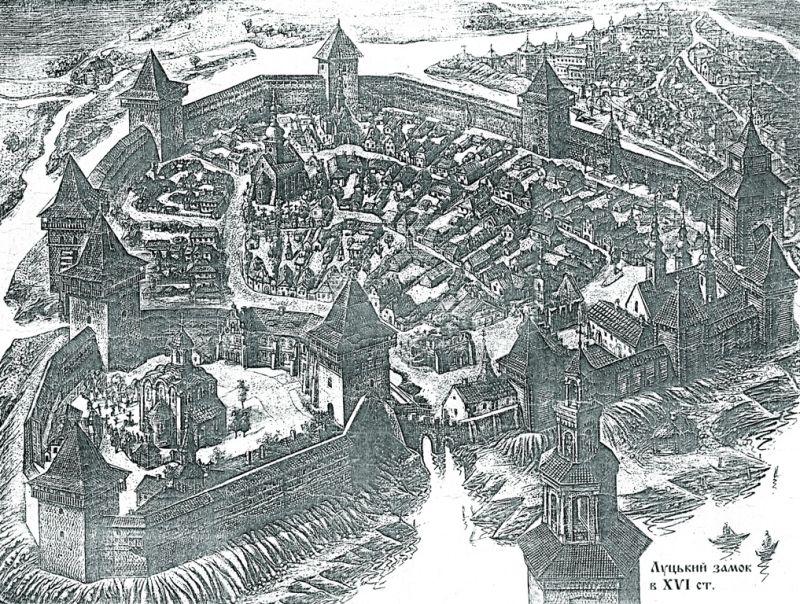 Загальний план Окольного замку