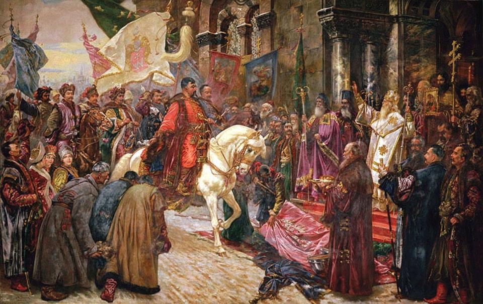 В'їзд Богдана Хмельницького до Києва 1649 року