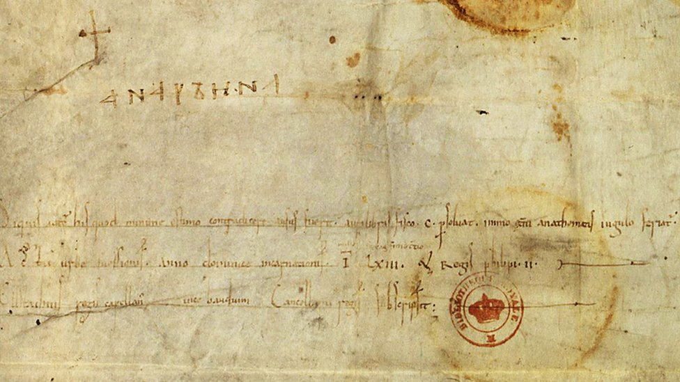 Лист із підписом королеви Анни