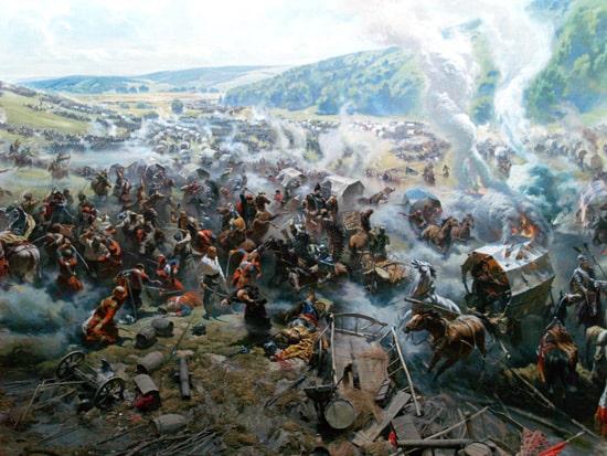 Панорама Корсунської битви, музей у Корсунь-Шевченківському